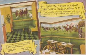 New York Albany New Turf Room And Grill The De Witt Clinton 1959
