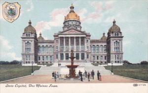 State Capitol Des Moines Iowa