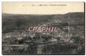 Old Postcard View taken to Saintines