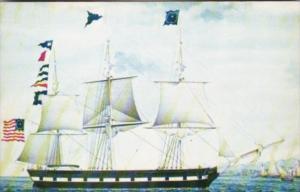 Ship Sooloo Built At Salem 1840