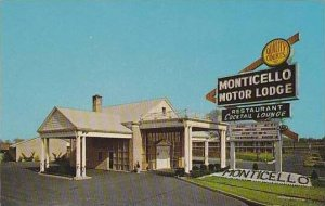 New Jersey Bellmawr The Monticello Motor Lodge