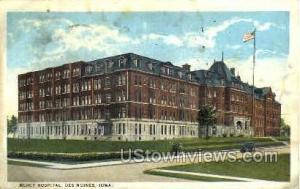 Mercy Hospital Des Moines IA 1923