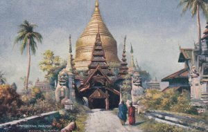 Pagan , BURMA , 1900-10s ; Shwegeena Pagoda ; TUCK 7238