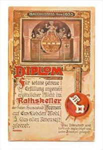 Rathskeller , Bremen, Germany , PU-1928