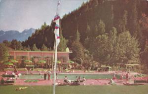 HARRISON HOT SPRINGS, British Columbia, Canada, 1940-1960's; Swimming Pool, H...