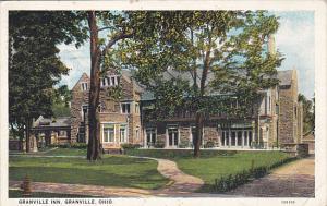 Ohio Granville The Granville Inn 1938 Curteich