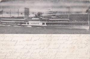 Hudson River Day Line S S Albany 1907