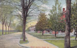 Scenic view,  Officers' Quarters,  Atlanta,  Georgia,  PU_1912