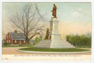 Roger William's Statue & Betsey Williams House, Roger William Park, Providenc...