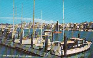 California San Francisco Marina Yacht Harbor