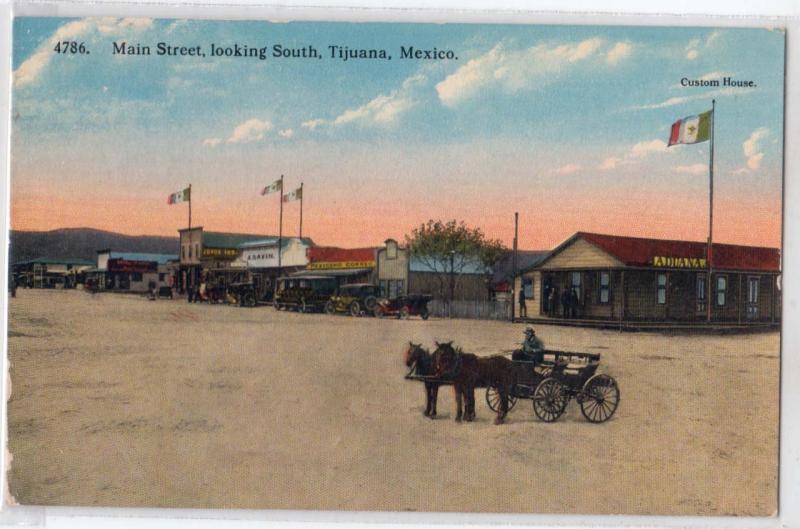 Main St. Tijuana Mex