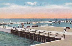 Yacht Basin, Menominee, Michigan,  PU-1942