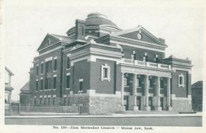 MOOSE JAW , Saskatchewan, 1910S ; Zion Church (Methodist) #2