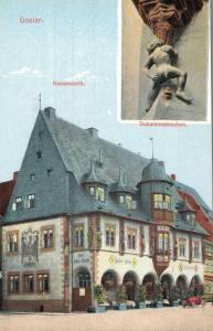 Germany Goslar Kaiserworth Dukatenmannchen 01.89