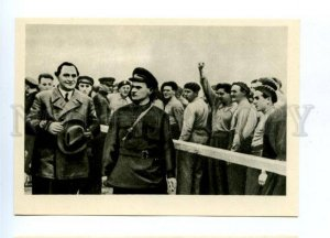 142364 RUSSIA Moscow 1934 Red Square Georgi DIMITROV Bulgarian