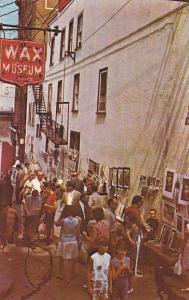 Wax Museum, La Rue Du Tresor, Quebec, Canada, 1940-1960s