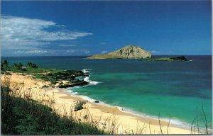 postcard Hawaii - Makapuu Beach, Oahu