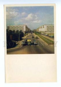 167809 USSR Russia LENINGRAD Moskovsky Prospekt old postcard