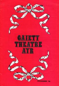 Andy Cameron of Take The High Road Ayr Scotland Theatre Programme