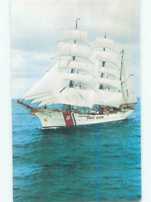 Pre-1980 COAST GUARD SHIP BOAT New London Connecticut CT AF4672