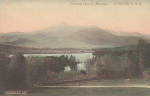 CHOCORUA, New Hampshire, 1900-10s; Chocorua Lake and Mountain
