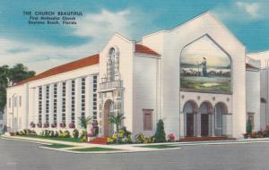 DAYTONA BEACH, Florida, 1952; The Church Beautiful, First Methodist Church