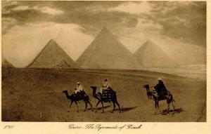 Egypt - Cairo. Pyramids of Gizeh