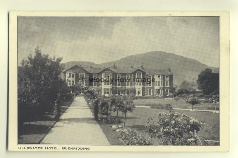 tp5523 - Cumbria - Ullswater Hotel and Grounds in Glenridding - postcard