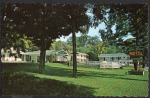 Ontario ~ Lake Simcoe Motel at BARRIE on Hwy 11 (114 Blake Street) 1950s-1970s