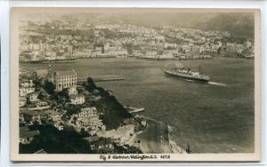 Wellington Harbour Interisland Ferry New Zealand 4073 1950c Real Photo postcard