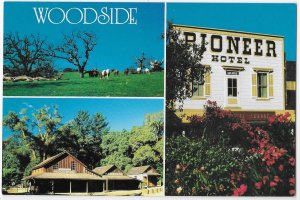 Woodside California South of San Francisco Pioneer Hotel  Horse Country 4 by 6