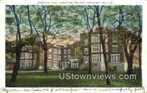 Missouri Hall, Christian College Columbia MO 1933