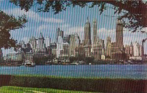New York City Lower Manhattan From Governor's Island