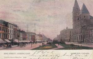 HAMILTON , Ontario , 1905 ; King Street , East : Version-2