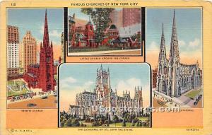 Trinity Church, St Patrick's Cathedral New York City NY Unused