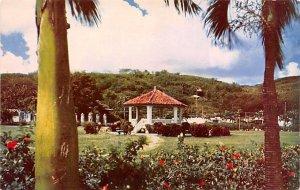 Bandstand, Plaza de Espana Agana Guam Unused
