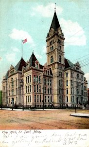 Minnesota St Paul City Hall 1907