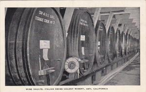 California Asti Wine Vaults Italian Swiss Colony Winery