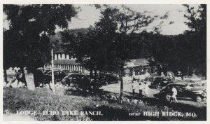 HIGH RIDGE , Missouri , 1930-40s ; Lodge - Echo Lake Ranch