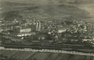 luxemburg, ECHTERNACH, Panorama (1920s) Postcard