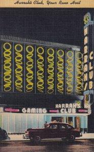 RENO, Nevada, 1930-1940's; Harrah's Club Casino
