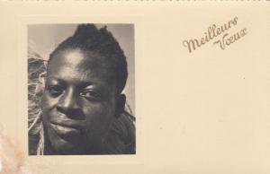 RP Head portrait Native man, 20-40s