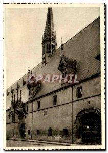 Hotel Dieu in Beaune Old Postcard Facade