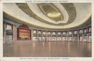 CHICAGO , Illinois , 1935 ;   Trianon, The World's Most Beautiful Ballroom
