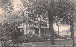 Kirkside, Miss Helen Gould's Summer Residence Roxbury, New York Postcard