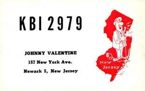 KBO2979 Newark, NJ, USA QSL Unused