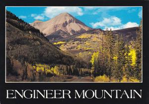 Colorado Engineer Mountain Along Million Dollar Highway