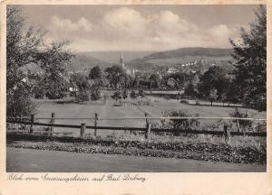 Blick vom Genesungsheim Stellberg der Landesversicherungsanstalt Bad Driburg