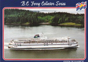Canada Ferry Queen Of Saanich British Columbia Ferries