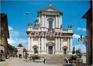 Postcard Modern Solothurn St Ursenkathedrale